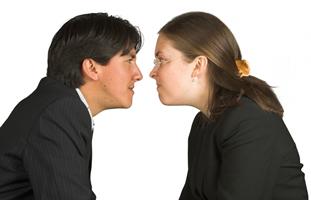 Cómo mantener la calma en un conflicto laboral.