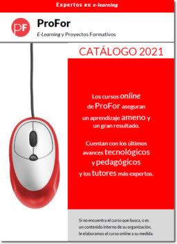 profor catálogo E-Learning 2021